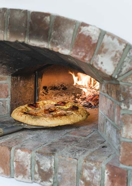 Kitchens with stone pizza ovens yahoo search results pizza bear horno hornos y panader a - Horno pizza casa ...