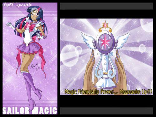 sailor magic - my-little-pony-friendship-is-magic Fan Art