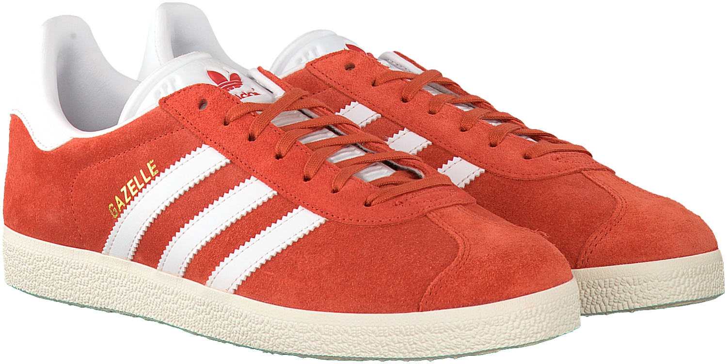 Rode ADIDAS Sneakers GAZELLE DAMES - Rode sneakers, Adidas ...