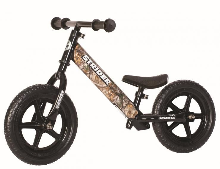 New Realtree Strider 12 Custom Balance Bike For Toddlers