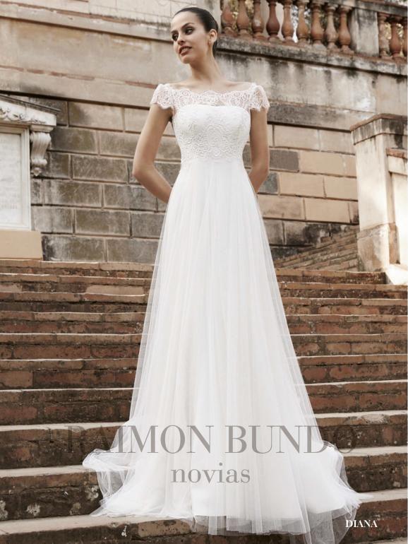 Robe de Mariée Couverture Diana collection Raimon Bundó | Just Married France