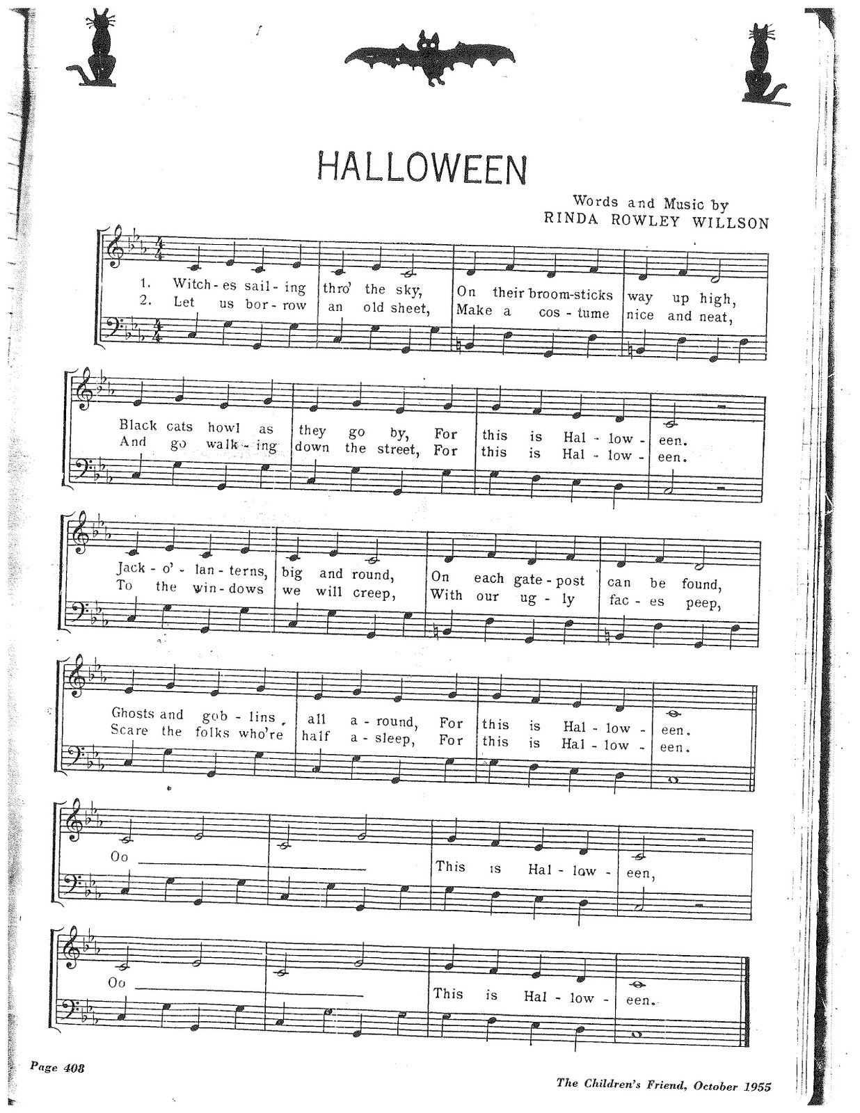 Canzoncine Halloween.My Mom Used To Always Sing Play This Song Around Halloween Very
