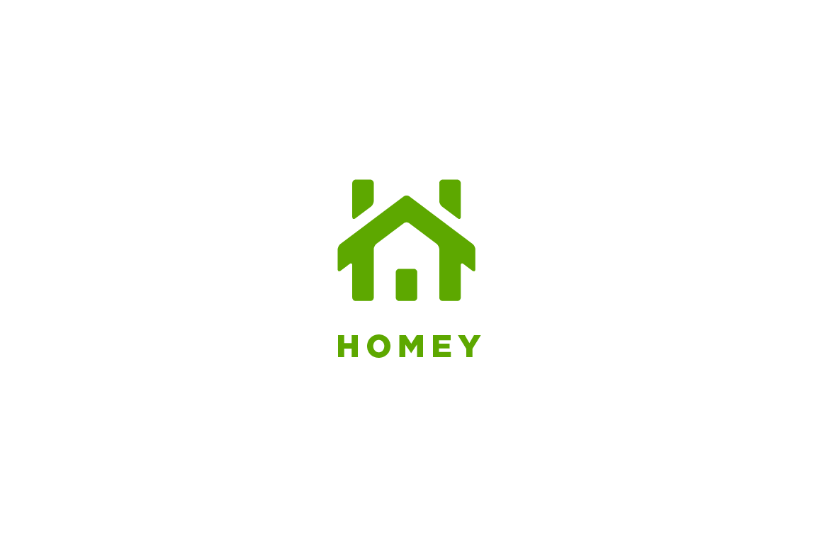 Homey Letter H Logo Lettering Logo Design House Logo Design