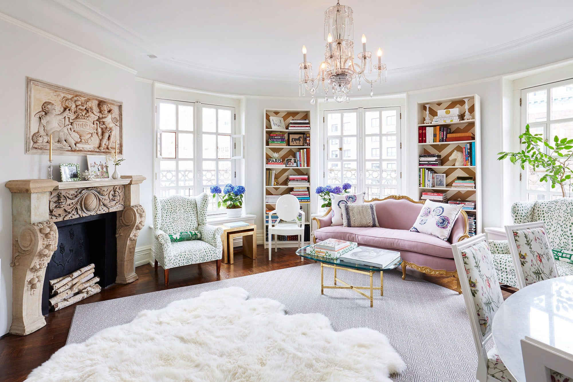 A Feminine French-Inspired Home on the Upper West Side   Upper west ...