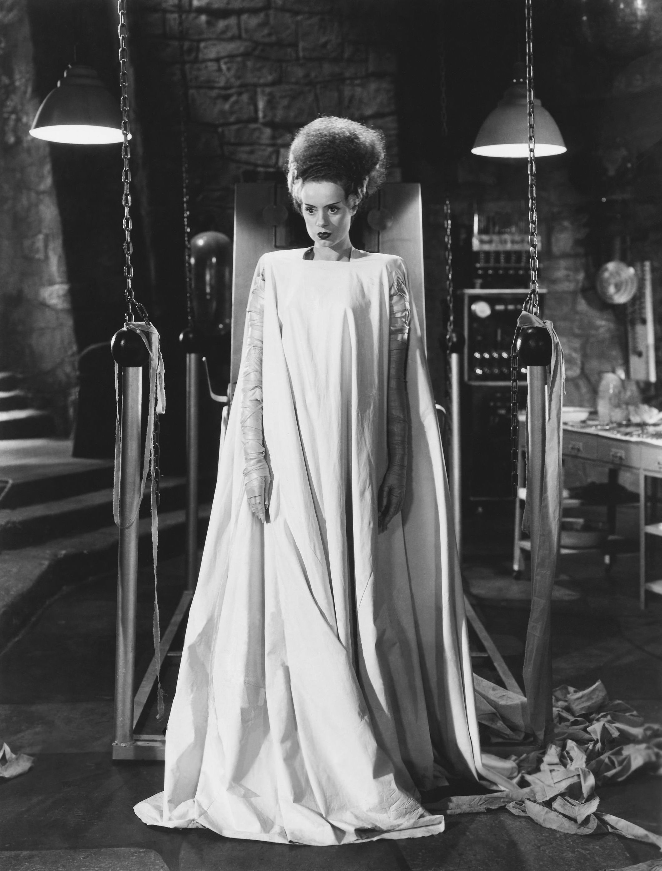 foto Easy Halloween Costume Idea: Bride of Frankenstein