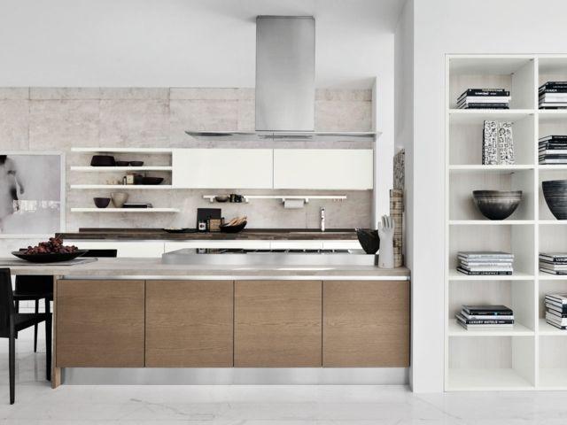 moderne Holz Küche Abzugshaube Kochinsel Planung | Küche | Pinterest ...