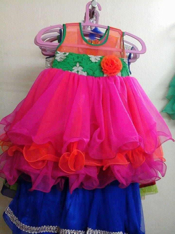 Frill Frock Baby Clothes Baby Girl Frocks Kids Frocks