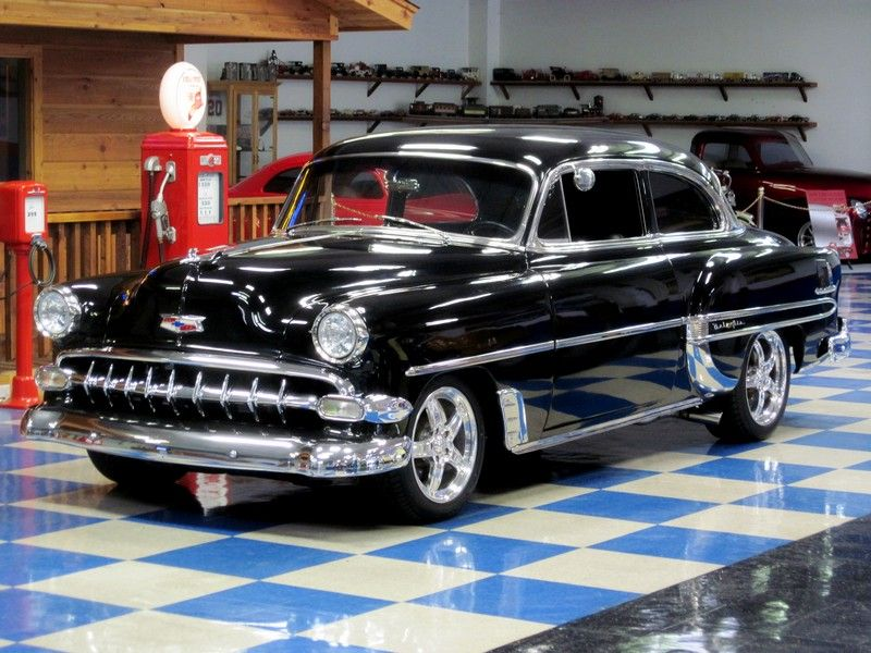 A & E Classic Cars : Classic Cars For Sale : 1954 Chevrolet Bel ...