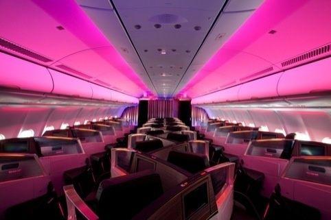 Inside the Virgin Atlantic upper class suite