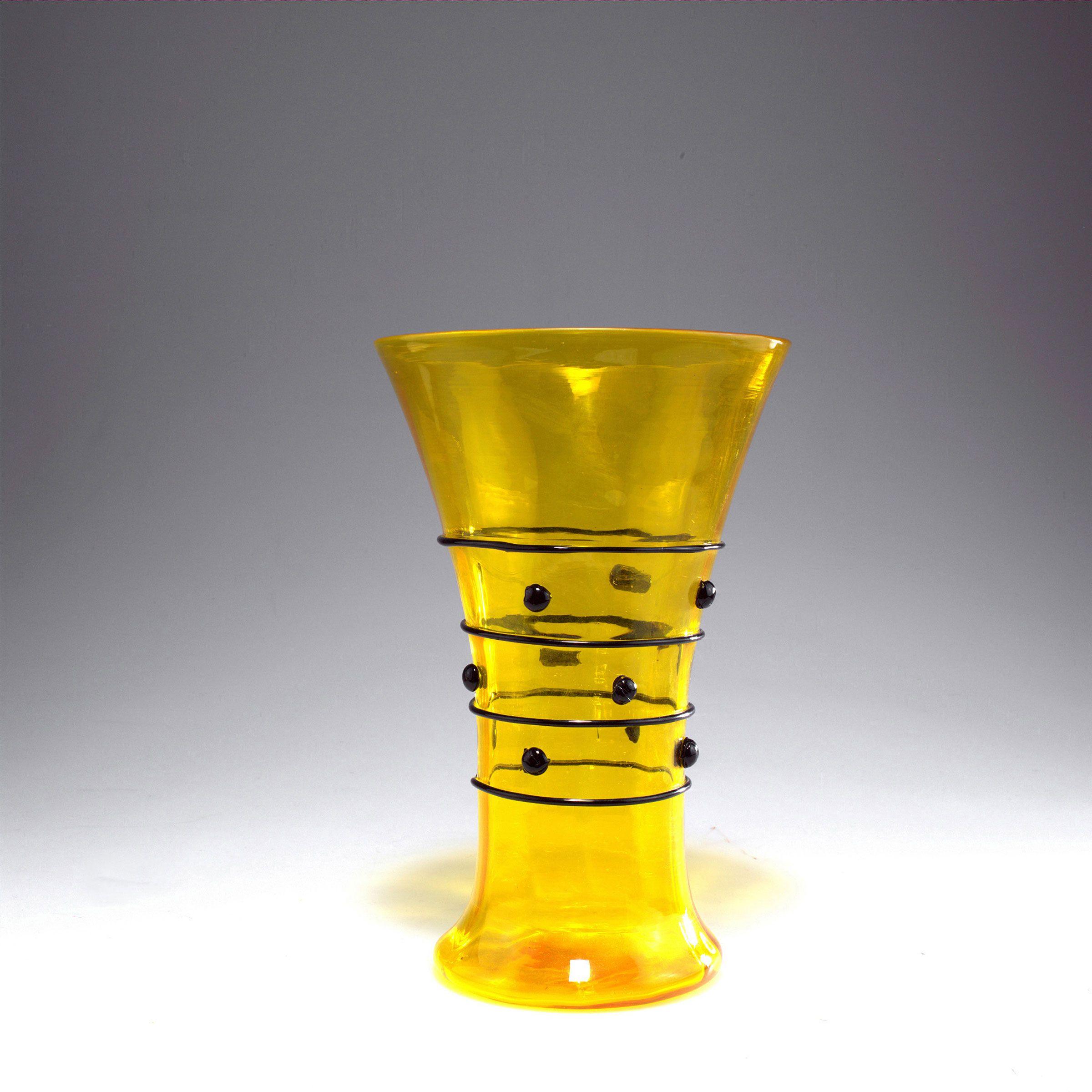 Lot 0649 - Vase, 1914 Barovier, Benvenuto Barovier, Artisti, Murano ...