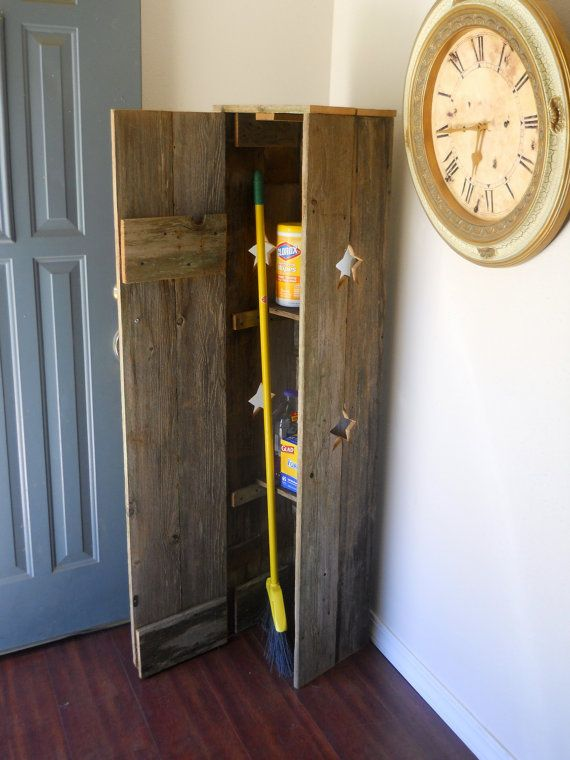 Broom Closet Pantry Laundry Room Cabinet Kitchen