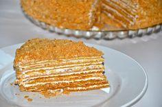 "Russian Honey Cake ""Medovik""   Delights of Culinaria"