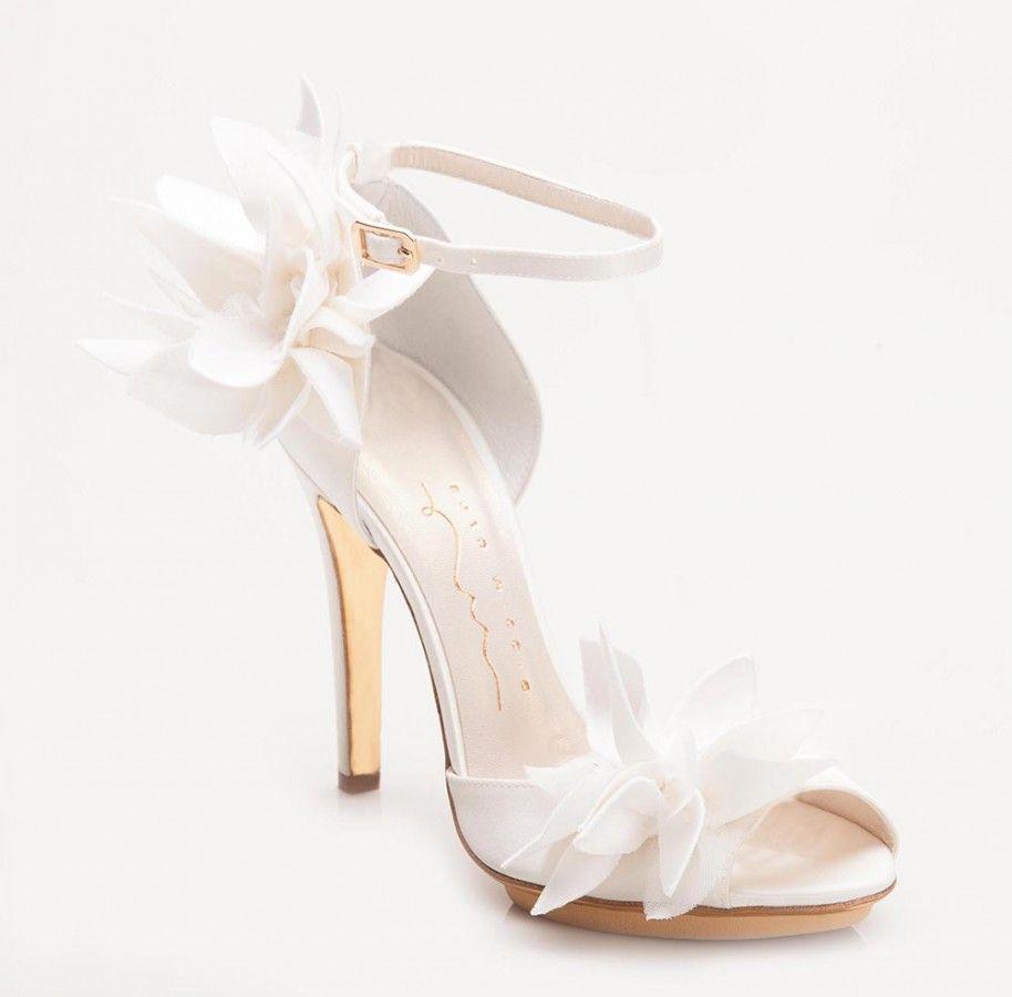 Scarpe Sposa Enzo Miccio.Enzo Miccio Petali Weddingshoes Scarpe Da Sposa Scarpe Da
