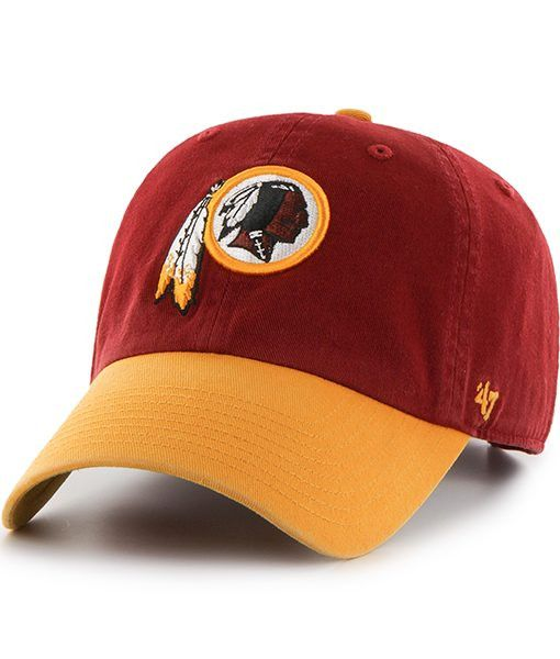 Washington Redskins 47 Brand Clean Up Adjustable On Field Cotton ... 9a5a79233