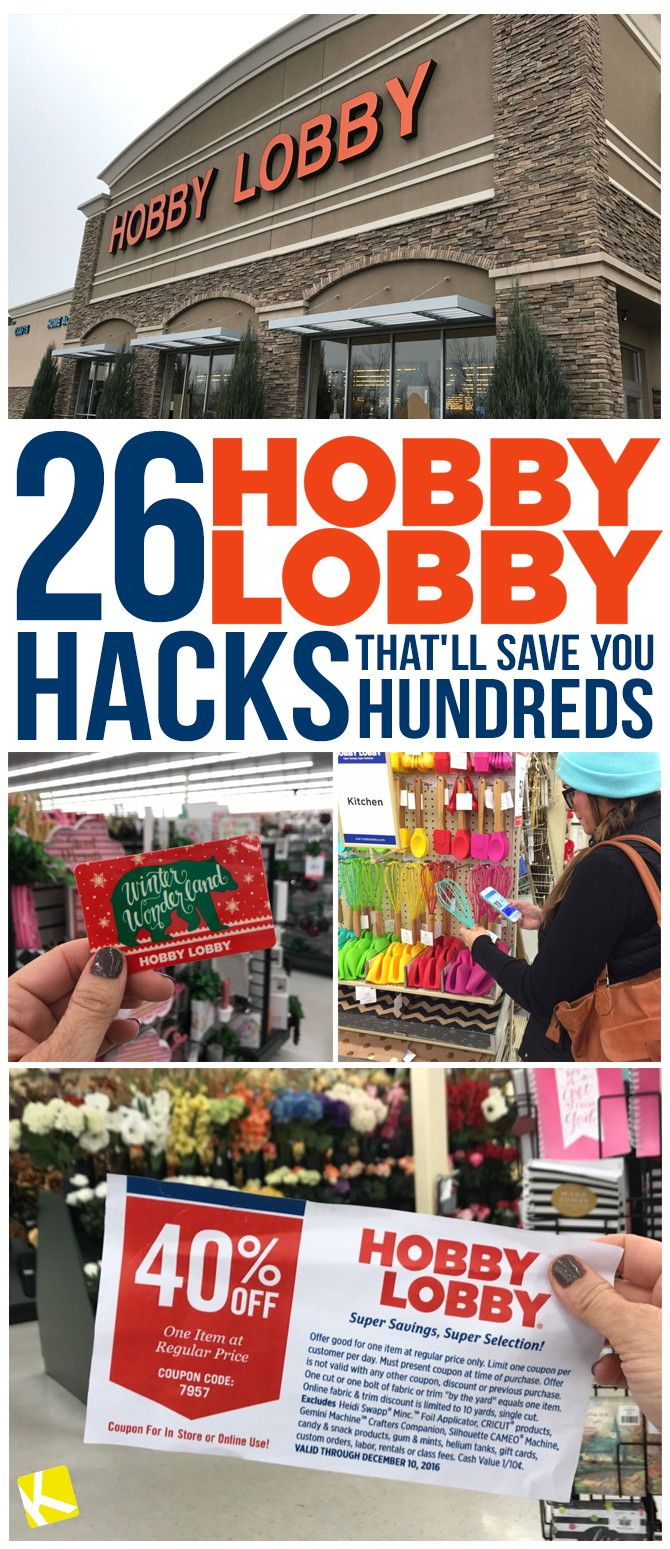 26 Hobby Lobby Hacks That'll Save You Hundreds Products