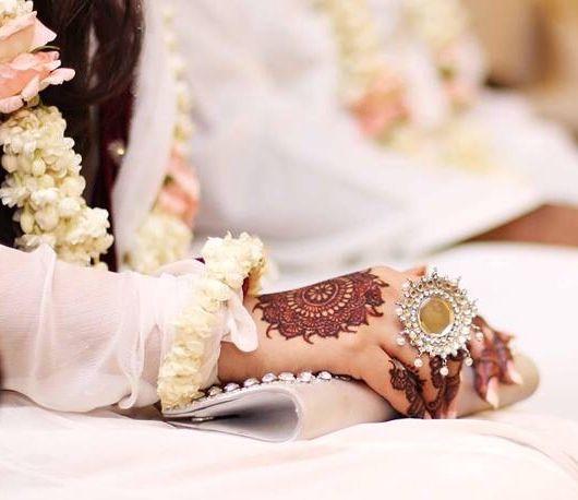 20 Beautful Henna Designs For Nikah: Nikah Pic