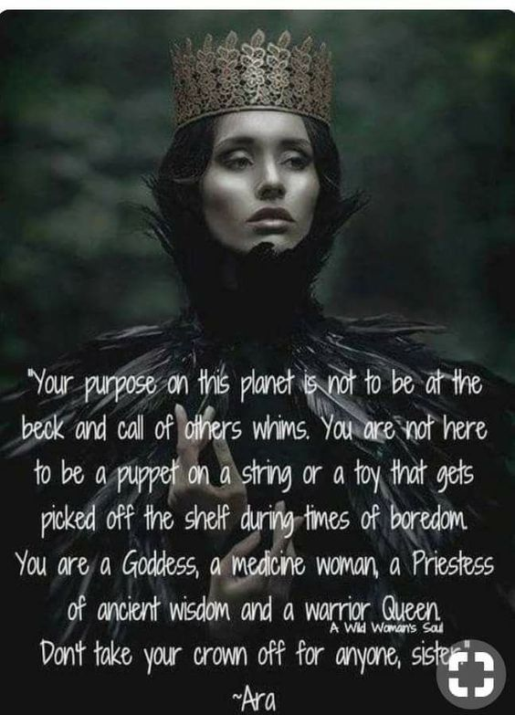 Don't take off your crown
