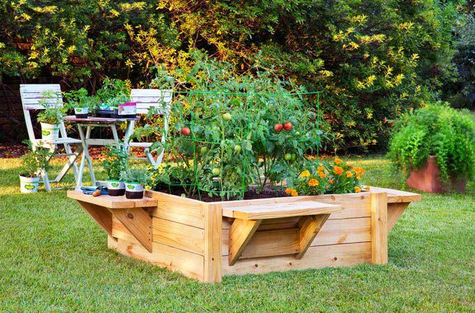 28 Amazing Diy Raised Bed Gardens Jardin Sureleve Jardin En