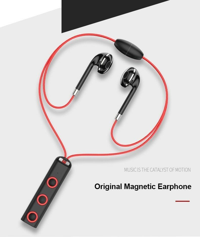 V4.1 Magnet Necklace,Long Distance Bluetooth Headset