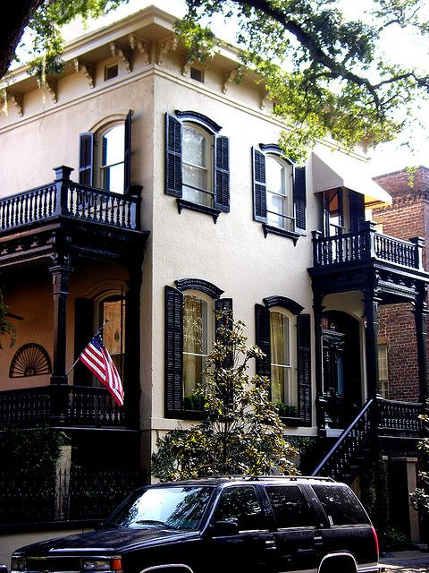 Savannah, Ga -- one of my favorite places. We had our h<3neymoon there