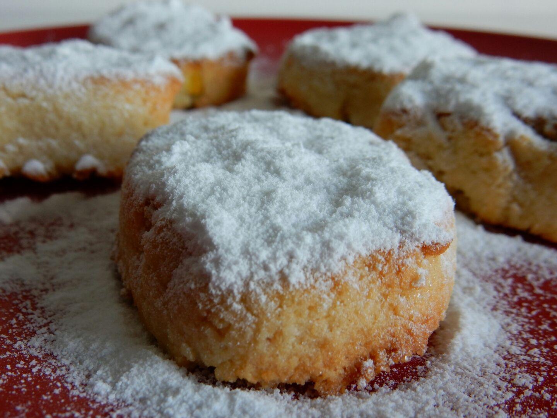 Bacci al limone ou biscuits au citron