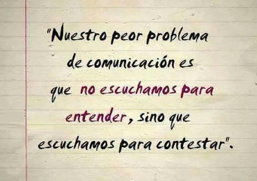 Problema comunicación