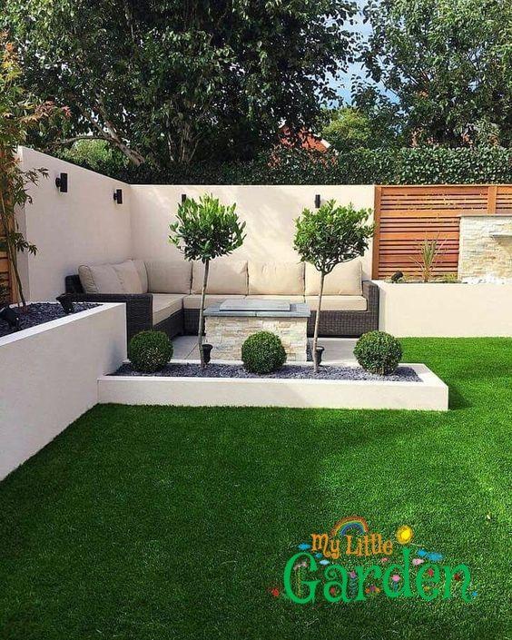 25 Kleine Gartengestaltung Ideen Garten Ideen Kleine Skalenbau Diyprojectga In 2020 Small Backyard Landscaping Diy Backyard Landscaping Outdoor Gardens Design