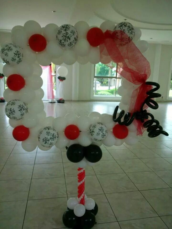 Balloon photo booth Balloon photo booth