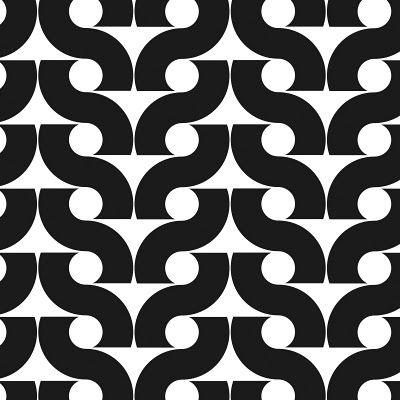 curving line repeated pattern, positive negative, flip design
