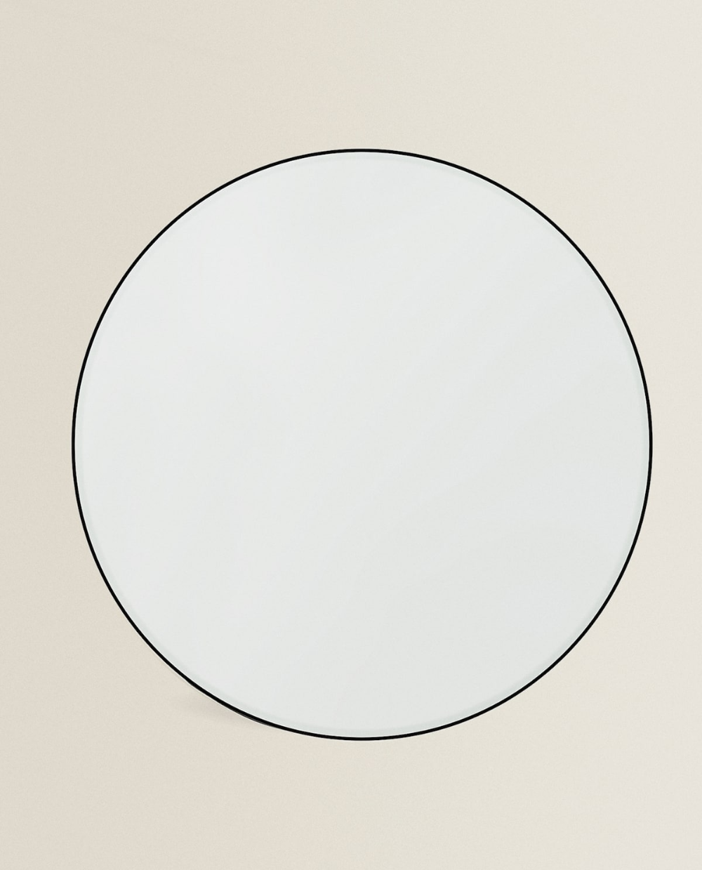 Round Mirror With Metal Frame In 2020 Large Round Mirror Round