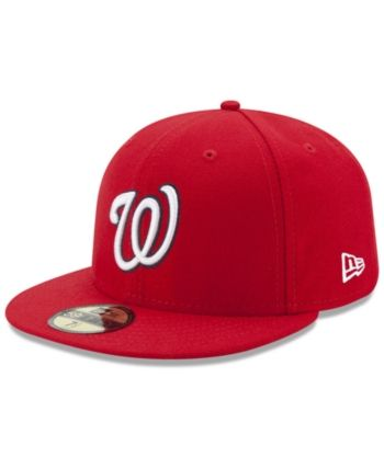 differently 6a77b e54f0 New Era Washington Nationals Jackie Robinson Day 59FIFTY Fitted Cap - Red 6  7 8