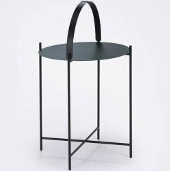 Photo of Houe Edge side table Ø 46cm dove blue Houe