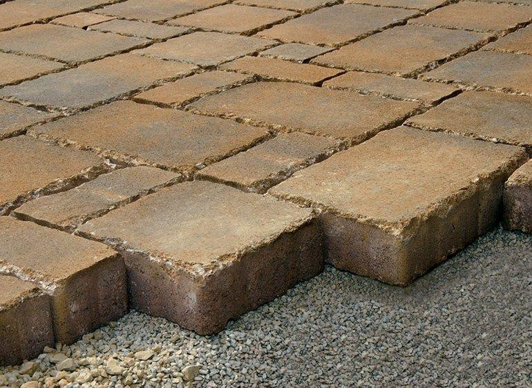 Massello autobloccante per esterno in calcestruzzo siena micheletto pavimentazioni rsm garden - Massello autobloccante per esterno prezzi ...