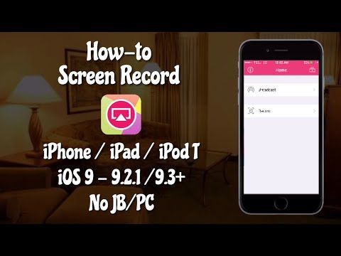 Update]] How to screen record iPhone/iPad iOS 9 - 9 2 1