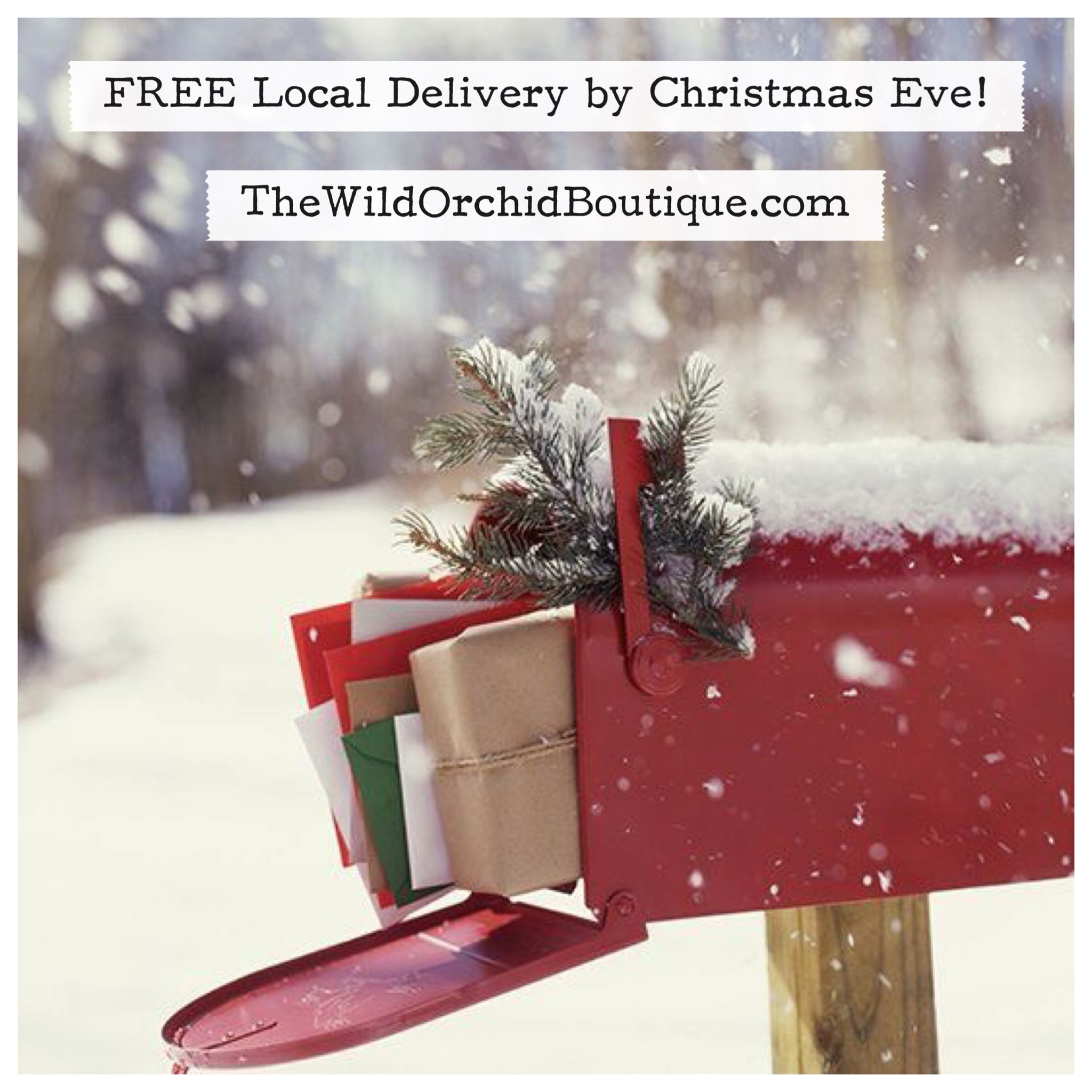 FREE Delivery by Christmas Eve within 30 minutes of Charlotte ...