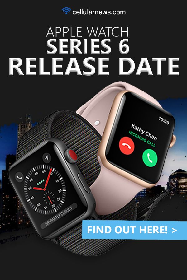 Apple Watch Series 6 Release Date is FINALLY ANNOUNCED ...