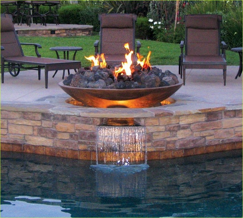 Fire And Water Fountain Diy 2 Let S Diy Home Fountaindiy Fire And Water Fount In 2020 Diy Water Fountain Diy Fountain Water Fountain