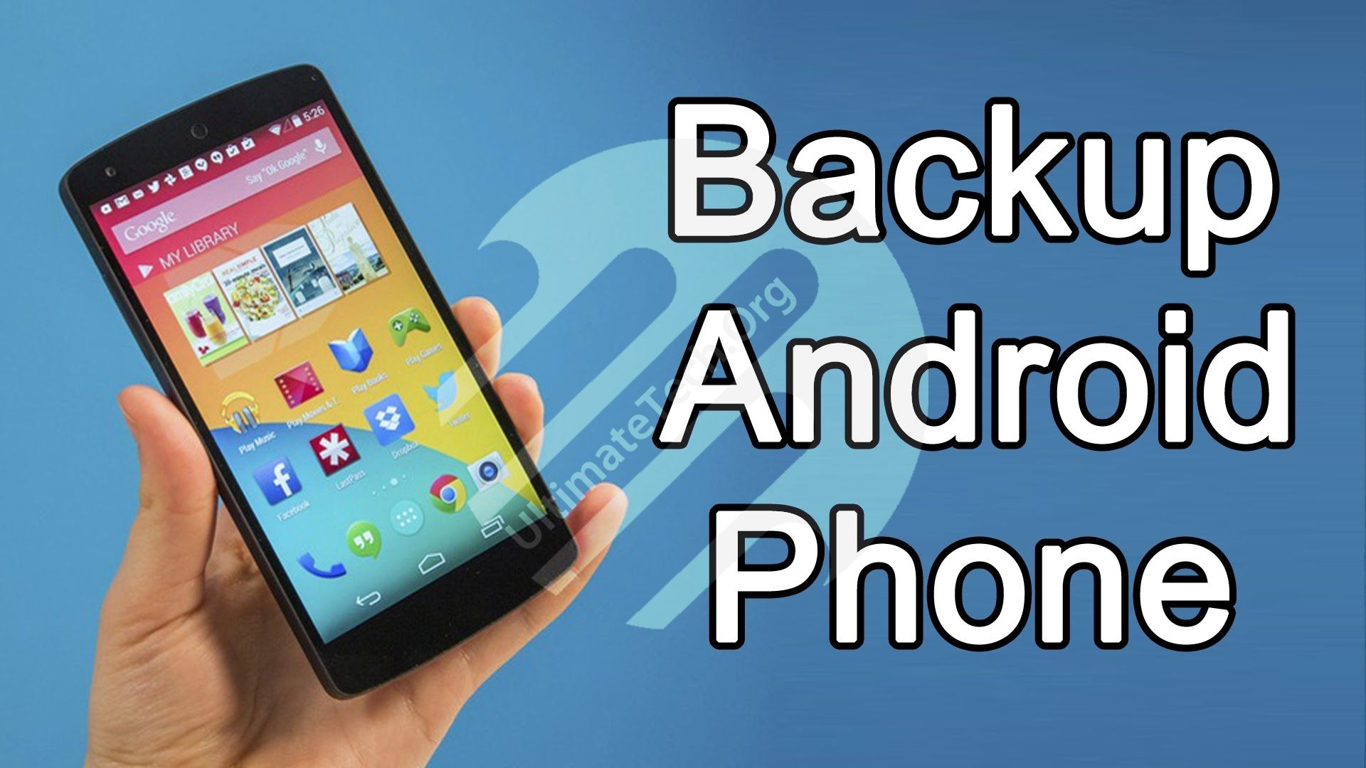 How to Backup Android Device without Root? [Full System