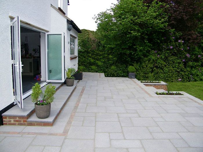 marshalls saxon paving natural by paramount paving. Black Bedroom Furniture Sets. Home Design Ideas