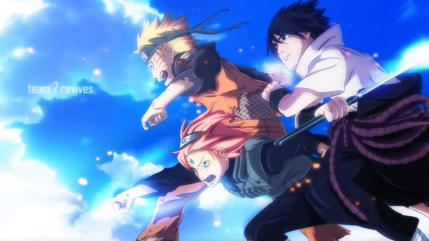 The Last Naruto In Team 7 Wallpaper Naruto And Sasuke Wallpaper Naruto And Sasuke Sakura And Sasuke