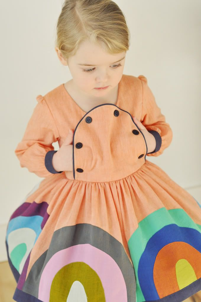 Every Color in the Box Dress | Kids outfits, Kids fashion