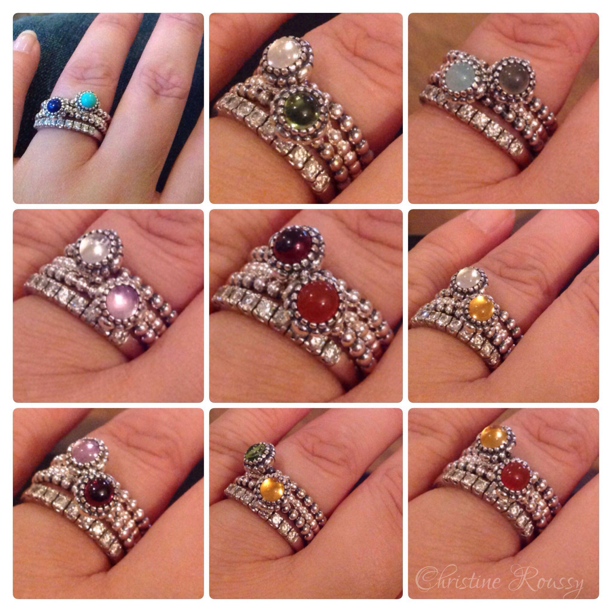1c9a826b7 Pandora rings. Stack :) …   jewelry   Pando…