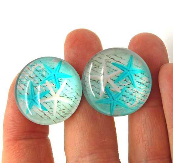Cabinet Knobs Starfish Knobs Set Of 2 Mancave Cabinet