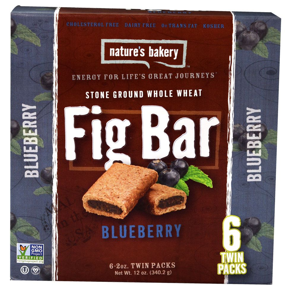Natures bakery stone ground whole wheat fig bar blueberry