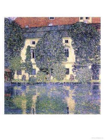 The Schloss Kammer On The Attersee 1910 Giclee Print Gustav Klimt Art Com Gustav Klimt Klimt Prints Klimt