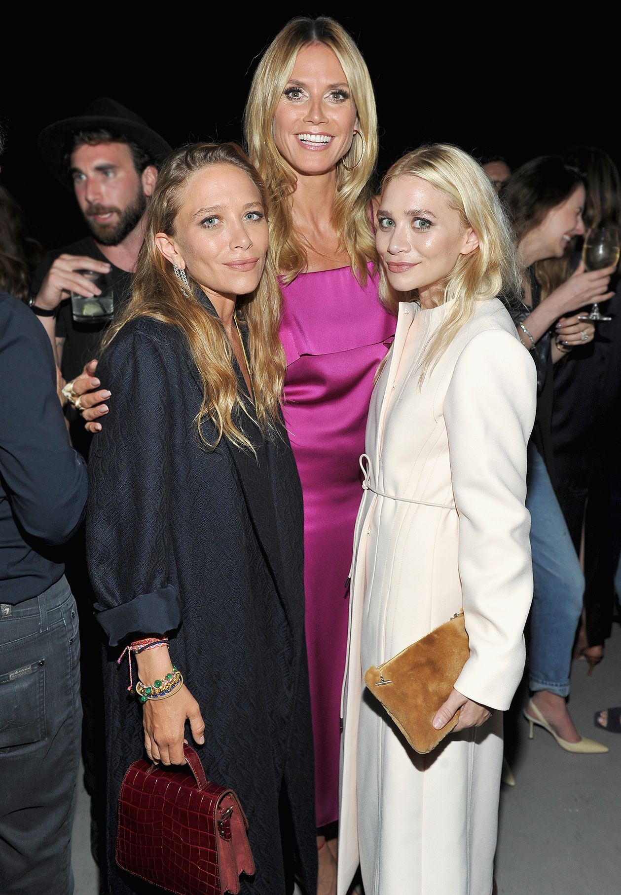 Inside Instyle S Elizabeth And James Los Angeles Flagship Store Opening Party Mary Kate Ashley Mary Kate Olsen Sister