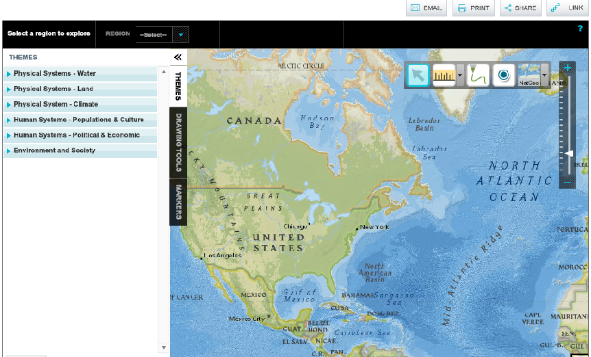 MapMaker Interactive, national geographic | Social Studies ...
