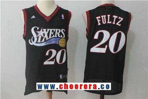 Men s Philadelphia 76ers  20 Markelle Fultz Black Retro Stitched NBA Adidas  Revolution 30 Swingman Jersey 9b65aa6f5