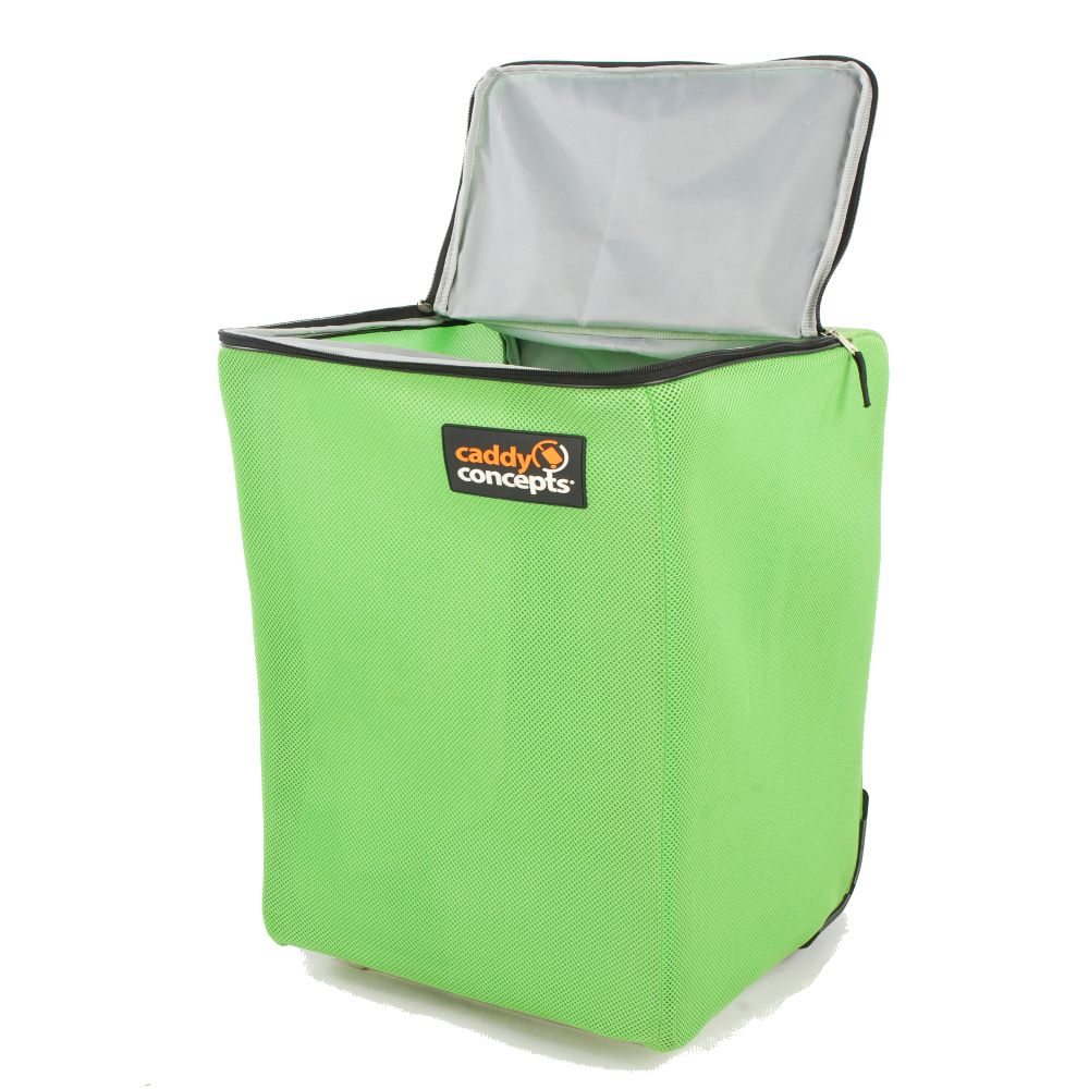 Caddy Concepts Portable Condo Laundry Hamper Lime Green Mesh Part 49