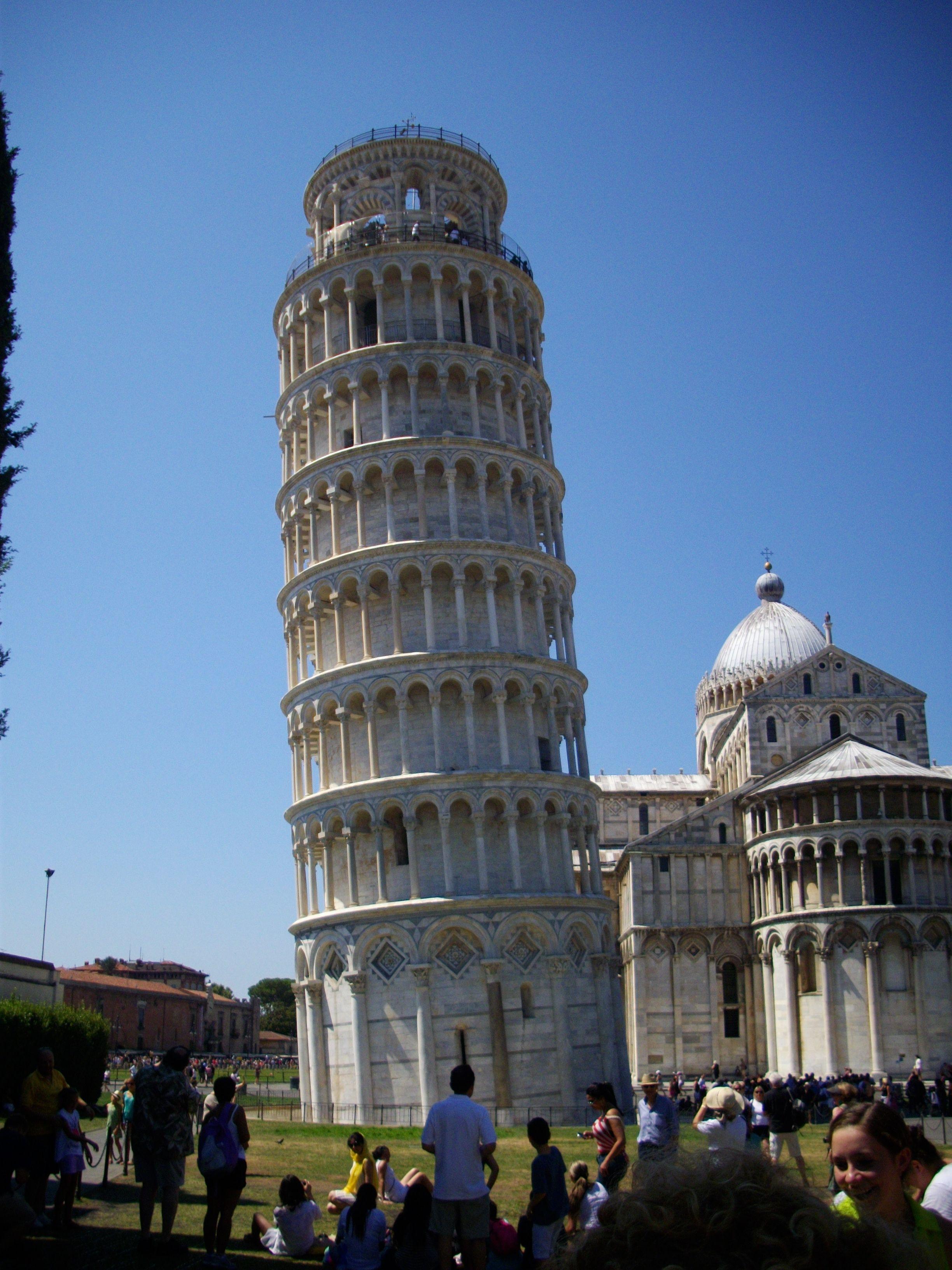 Pisa, Torre Pendente. Estate 2011.